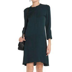 Theory Carstan Modern Georgette Silk Dress 00